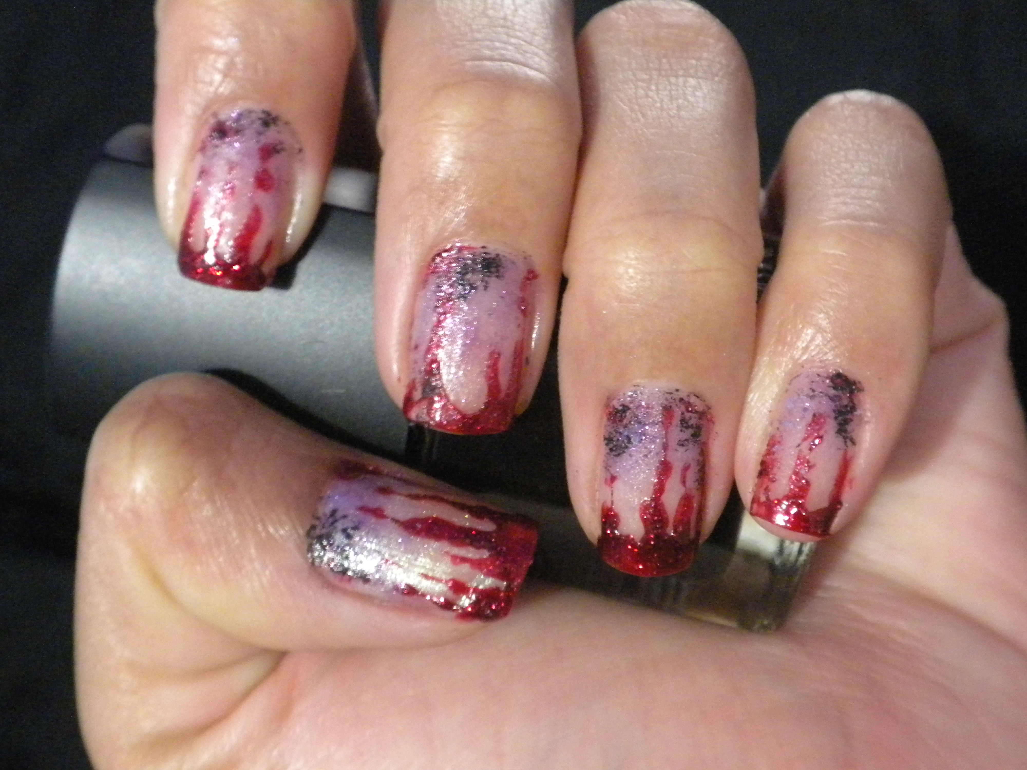 Bloody Halloween Nails – my epic nail art